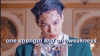 Download One strength and One weakness of each Kpop Fandom