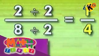 Equivalent Fractions (exercises)   Mathtinik   Grade 1 to 3 Math