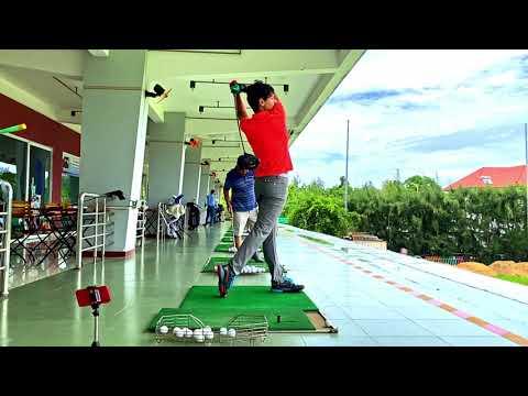 КАК НАУЧИТЬСЯ ИГРАТЬ В ГОЛЬФ БЫСТРО! УРОК ГОЛЬФА #1 БАЗОВЫЕ УРОКИ golf swing technique golf Vung Tau