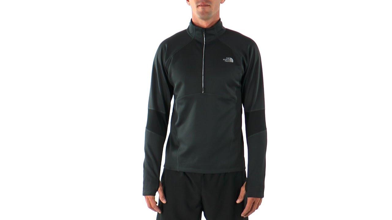 fb4588fb7 The North Face Men's Momentum Thermal Running 1/2 Zip | SwimOutlet.com