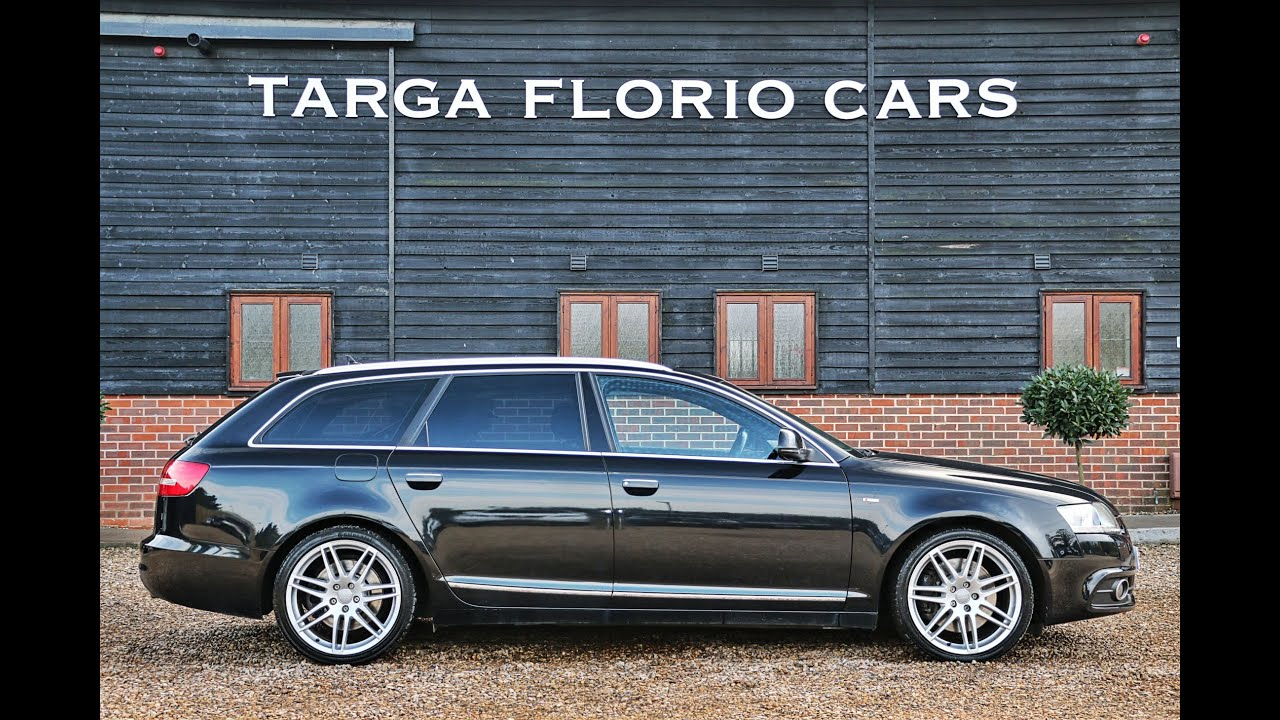 Audi A6 Avant S Line Special Edition 30 V6 Tdi Quattro In Phantom Black  Metallic London Uk