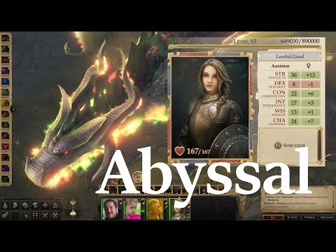 I created a monster    Abyssal Sorceror Build - YouTube
