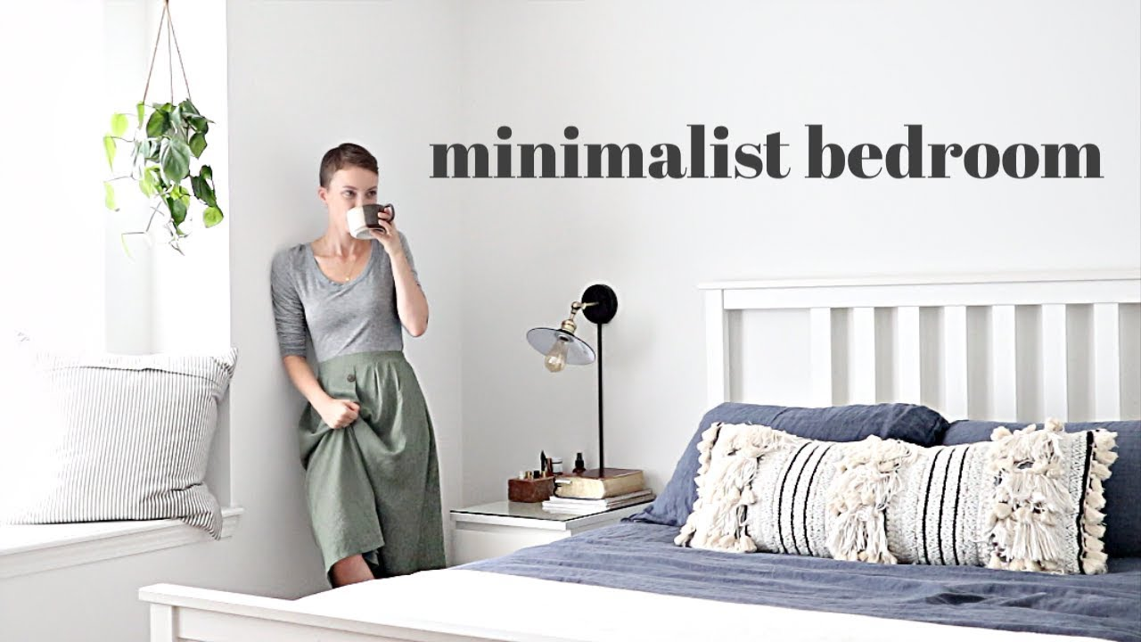 Minimalist Master Bedroom MAKEOVER | Before & After