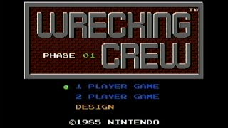 Wrecking Crew - NES Gameplay