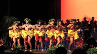A native Hawaiian hula performance greets the 2011 APEC youth delegation. Watch now!