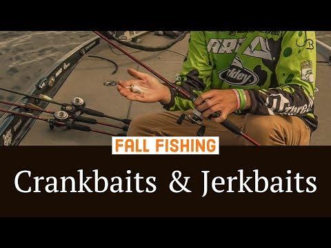 Fishing Crankbaits & Jerkbaits - Best Baits For Fall