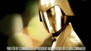 barack obama vs cobra commander presidential campaign ad