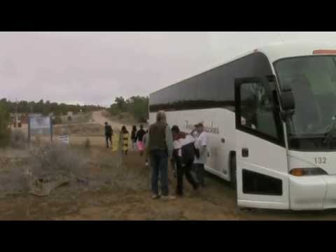 Dave Layman & Los Puentes Charter School Field Trip To Wild Spirit Wolf Sanctuary March 18th 2015