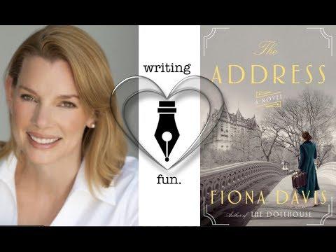 Writing Fun | Ep. 184 : The Address with Fiona Davis