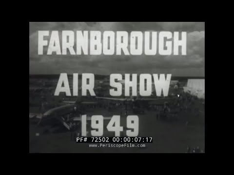 1949 FARNBOROUGH AIR SHOW IN UNITED KINGDOM 72502