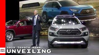 2019 Toyota RAV4 Unveiling