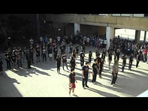Thriller Flash mob   IES Saavedra Fajardo bilingual program
