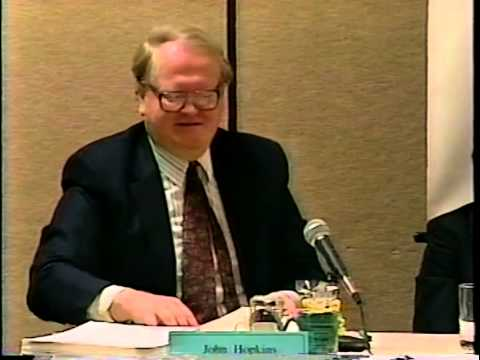 11th Envisioning California Conference 1999: Panel 2/6 - Growth Contols in Democratic Society