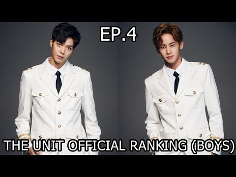 THE UNIT OFFICIAL RANKING (TOP 20 BOYS) EP.4 [7/8]
