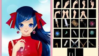 создаем леди баг в игре rinmaru создай свою аниме