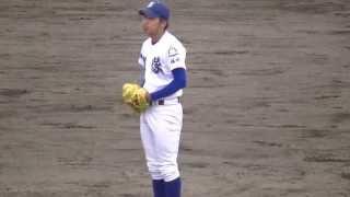 2015 NHK旗福岡大会準決勝 vs折尾愛真 打者 11崎村選手.