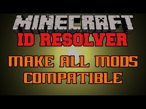 Minecraft Mod Showcase - ID Resolver - How To Change Block IDs