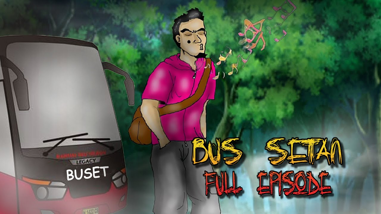 Animasi Bus Setan - Full Episode - Marvel The Marvelous