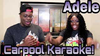 Adele Carpool Karaoke |Couple Reacts