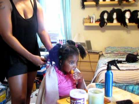 My 4 Year Old Daughter S Moisture Regimen Youtube