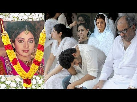 EMOTIONAL Sridevi's Family Breaks Down In Front Of Media Realising She Has PASSED AWAY
