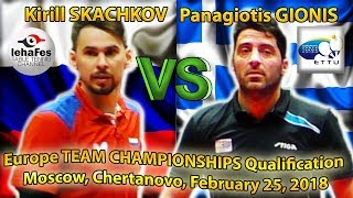 WORLD GAME! SKACHKOV - GIONIS!!!