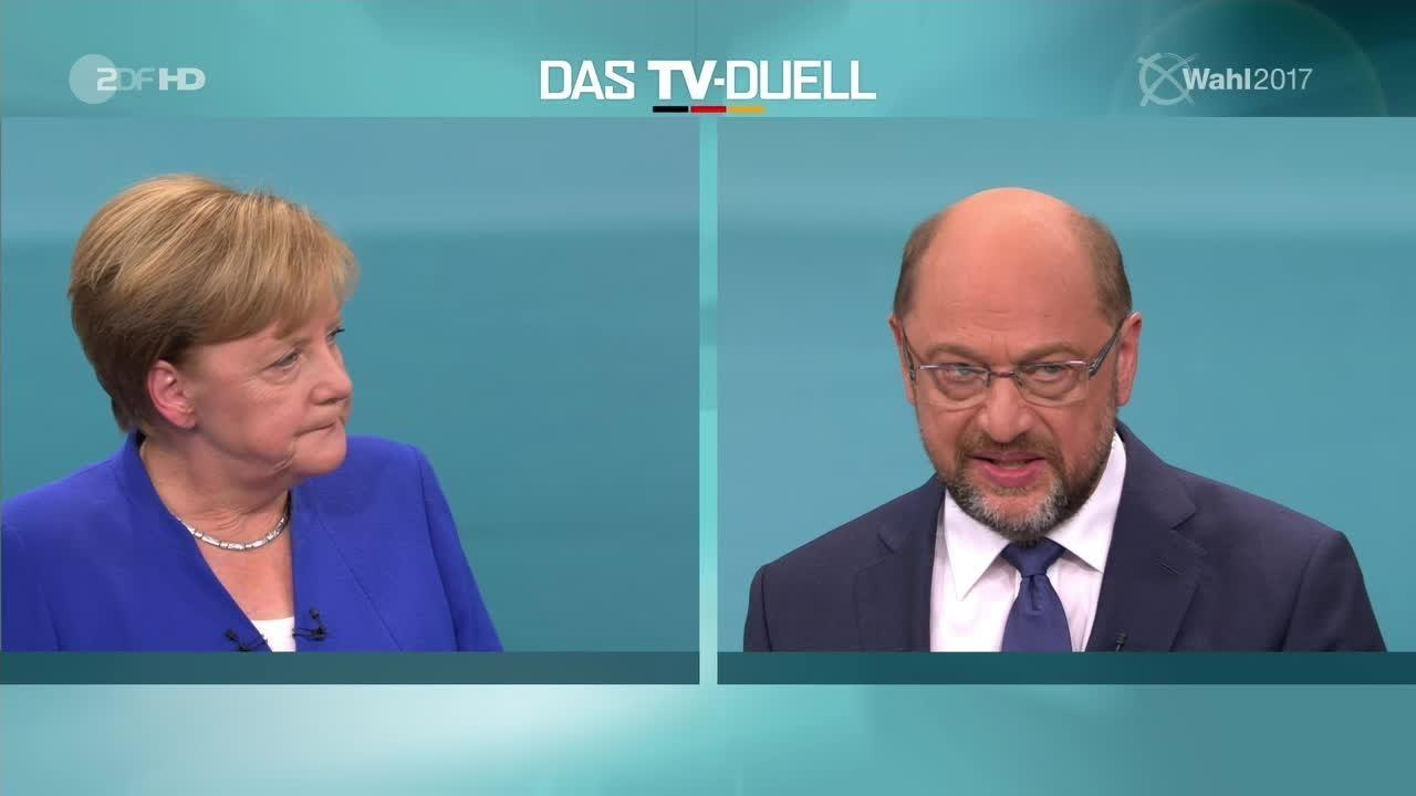 Merkel Duell