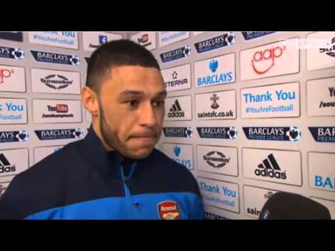 Southampton Vs Arsenal : Alex Oxlade Chamberlain Pre Match Interview