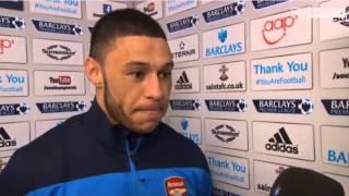 Southampton Vs Arsenal : Alex Oxlade Chamberlain Pre Match Interview