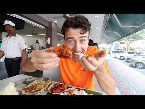 AMERICAN Reacts to Malaysian Food in MALAYSIA!