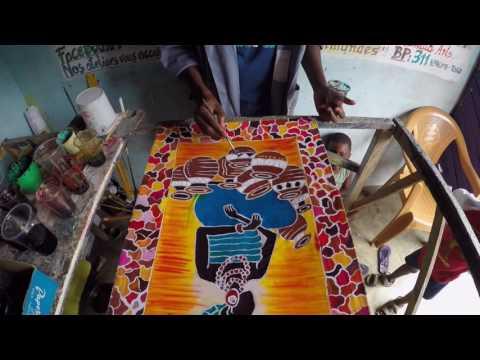 Atelier Batik  - Voyage participatif Togo