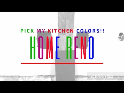 Pick My Kitchen Color!!! | DIY House Renovation Update | Semi Crunchy Mama