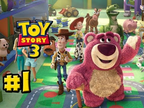 Toy Story 3 The Video Game Part 1 Train Chase Hd