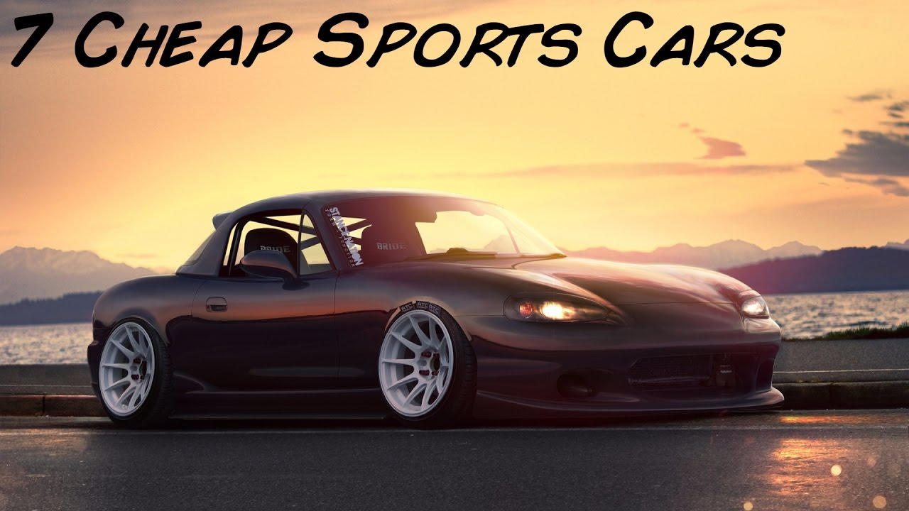 Best Cheap Sports Cars That You Can Have As Your First Car - Best inexpensive sports cars