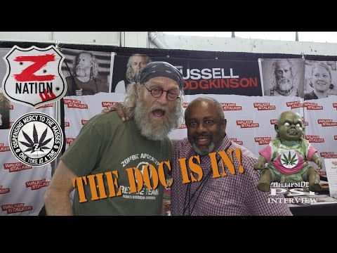 Walker Stalker Con SF 2017, Russell Hodgkinson from Z Nation and Phillip Siddiq!