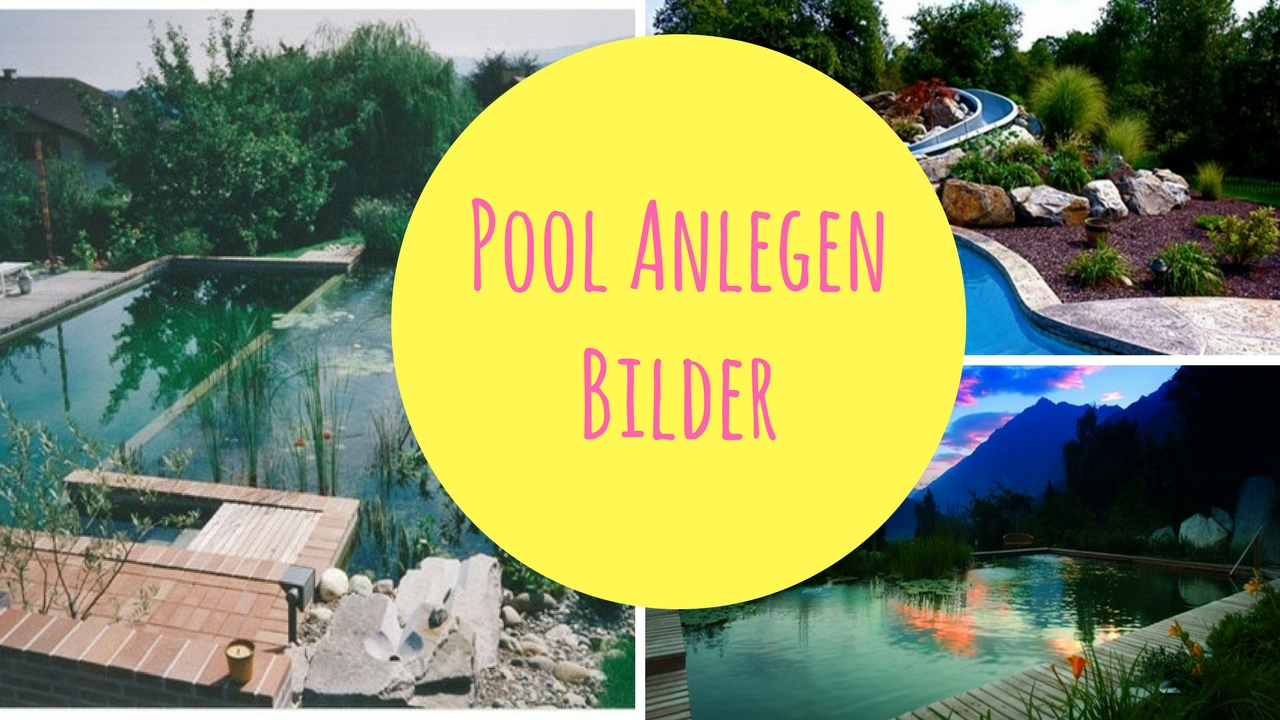 Pool anlegen bilder youtube - Pool anlegen ...