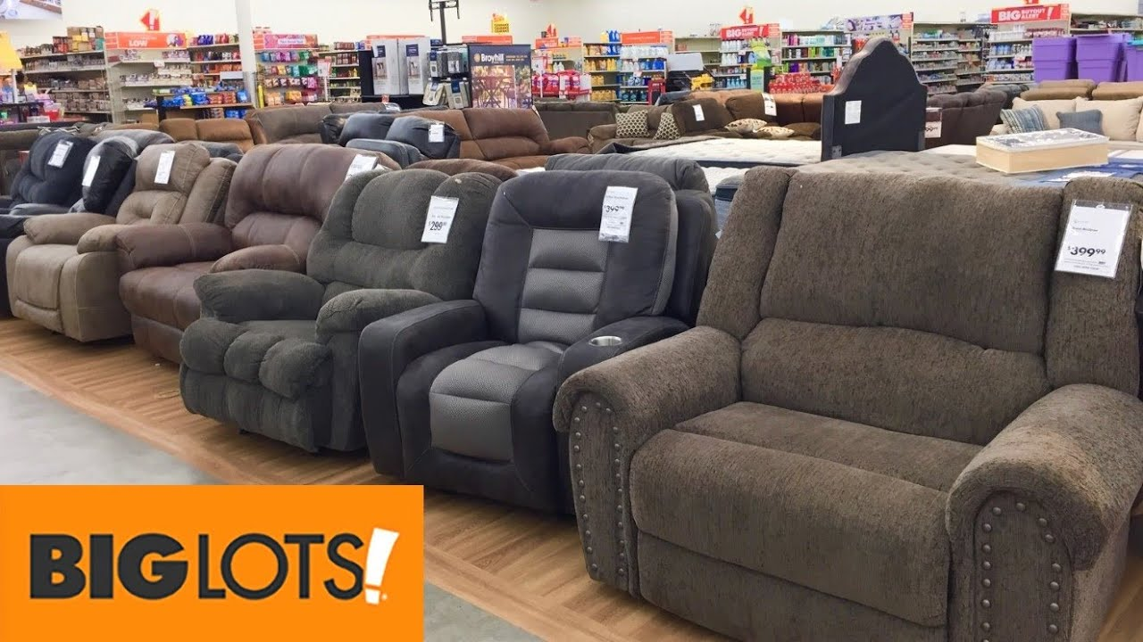 Big Lots Armchairs Recliners Chairs Furniture Shop With Me Shopping Store Walkthrough 4k Youtube