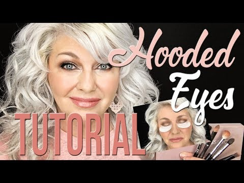 Hooded Eyes Makeup Tutorial Over 50