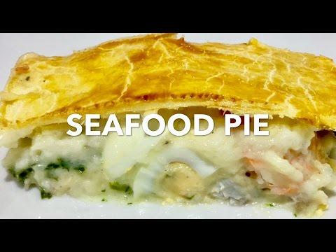 SEAFOOD PIE **Billy Law Man Food** BEST PIE EVER!