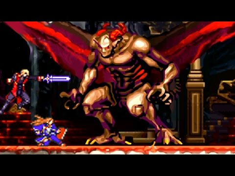 Castlevania Portrait of Ruin - All Bosses (No Damage)