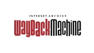 Путешествие в прошлое интернета - Wayback Machine