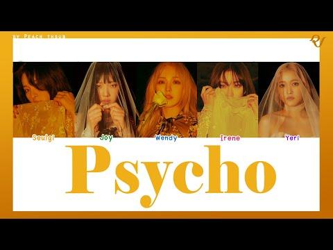 [COLOR CODED/THAISUB] RED VELVET - Psycho #พีชซับไทย