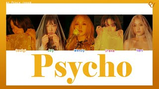 [COLOR CODED/THAISUB] RED VELVET - Psycho #พีชซับไทย