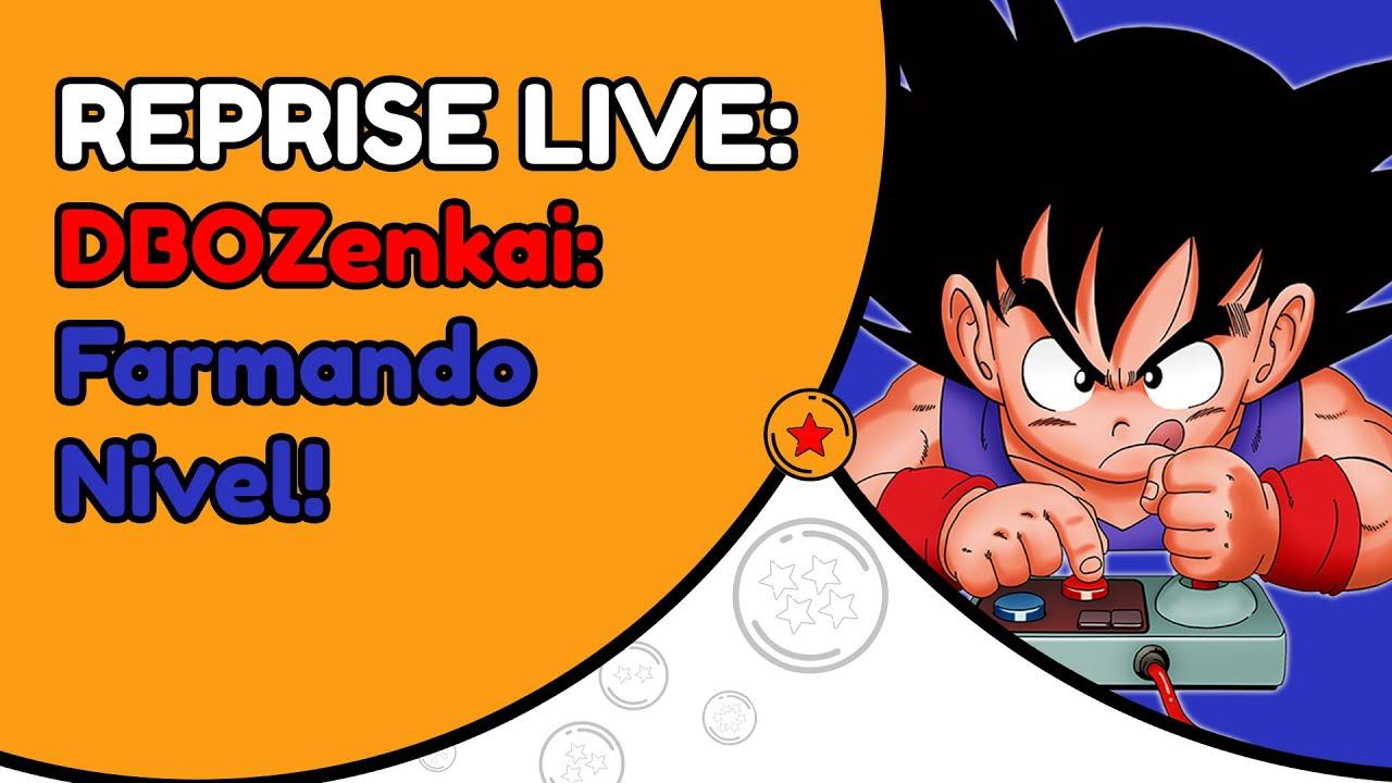 ✪ Dragon Ball Online Zenkai: Farmando nível! ✪