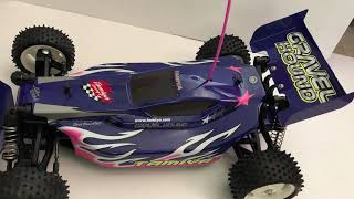 Tamiya Gravel hound off road buggy with brushless motor.