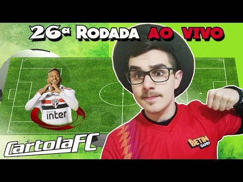 LIVE DICAS #26 RODADA | CARTOLA FC 2018