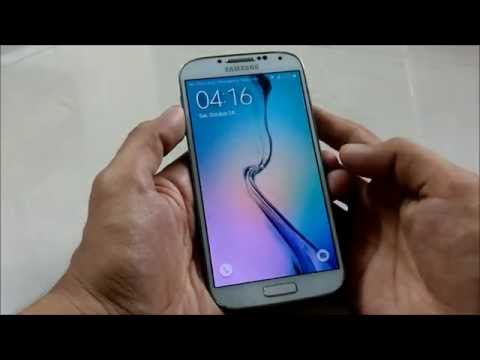 How To Convert Samsung Galaxy S4 Into Galaxy S6