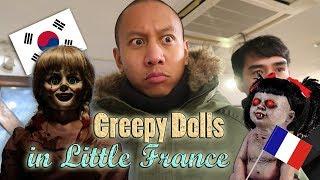 OMG! Creepy Doll House in Little France! | Vlog #30