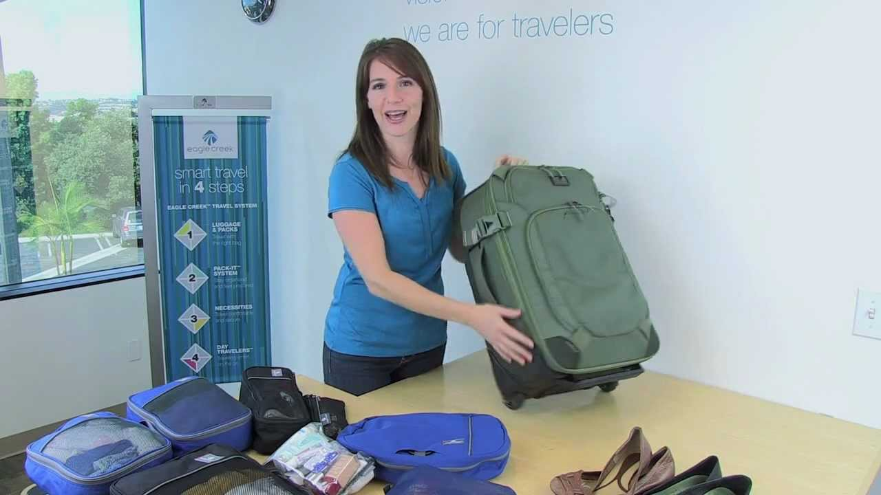 5ab8cd6cfa0b Packing 10 Days in a carry-on for a Woman - YouTube