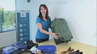 Packing 10 Days in a carry-on for a Woman